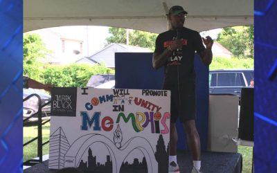 Basketball star Tarik Black hosts 'Righteous Revolution' rally