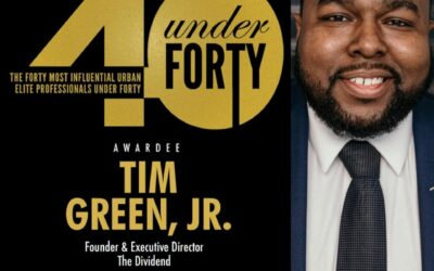 The Tarik Black Foundation proudly congratulates Tim Green, Jr