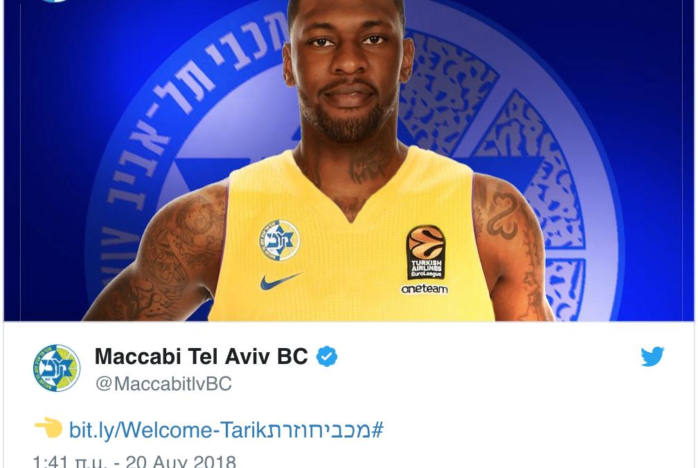 Tarik Black: Maccabi's new big hope